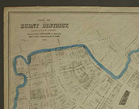 Plan of Burnt District 1876