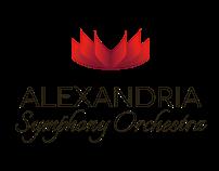 Alexandria Symphony - Brand and Website