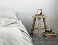White Bedroom - Personal study