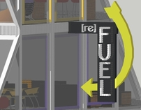 [re] FUEL - a Container Architecture Restaurant/Cafe