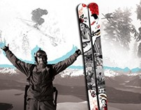 Shane McConkey | Commemorative Ski Display