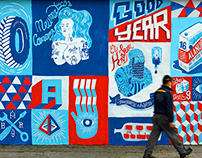 Mural Para Calendario Good Year 2014