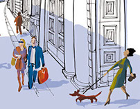 Florence street - IO DONNA- Corriere della Sera-Italy