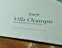 Rediseño Institucional - Villa Ocampo