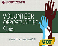 Volunteer Opportunity Fair