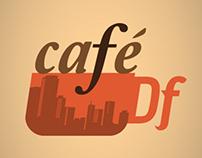 """Identidad """"CAFÉ DF"""" para CAPITAL 21"""