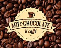 Art & Chocolate — Café Bistrot Identity