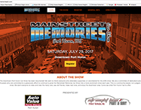 Main Street Memories Car Show Website