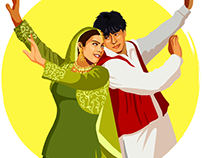 Google Allo Bollywood Stickers