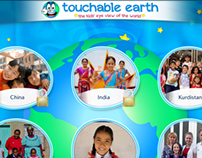 Touchable earth - App design