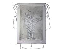 BLIND FAITH (etching print)