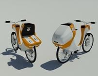 Paramedical electric bike