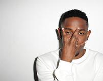 Kendrick Lamar Magazine Layout