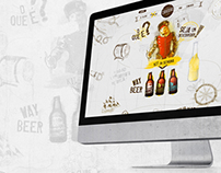 Site Clube Cervejeiro Mr. Beer