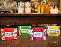 Wyld Soap Packaging & Display