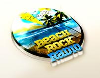 Beach Rock Radio - Logo Branding