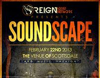 SoundScape - Flyer Design