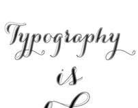 Typography Poster (Work In Progress)