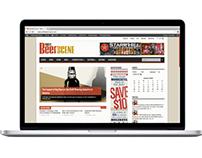 PhillyBeerScene Magazine website redesign