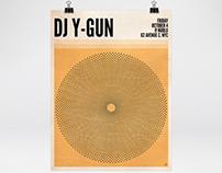 DJ Y-GUN Poster Series