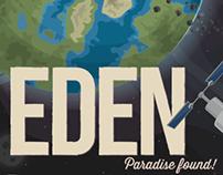 EDEN: Retro Travel Posters