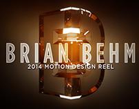 2014 Motion Design Reel