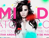 Demi Lovato — Chile 2014