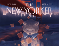 Bay Watched: The New Yorker Cover