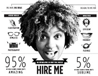 Hire Me: An infographic