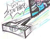 Sketchbook 19 - Jan. 2012 to Oct. 2012