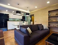 Apartment Design on Abovyan str. in Yerevan, Armenia