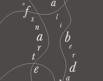 Cartaz Tipografia + Dança (Poster Art)