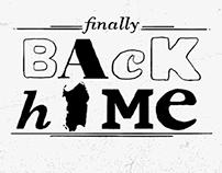 (Finally) Back home