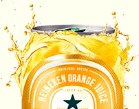 Heineken Orange Juice