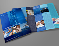 Company Brochure Bi-Fold Template Vol. 16