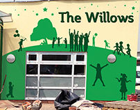 Willows Primary School Logo Design, Branding & Signage