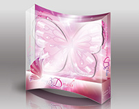 Packaging for My 3D Nails artificial nails set