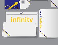 Post Infinity Identity Design