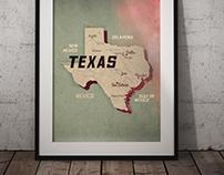 Map-Texas