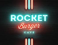 Rocket Burger Cafe (Brand Identitiy)