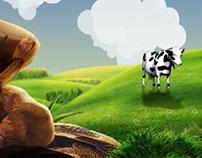 يابقرة صبي لبن