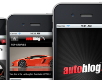 Autoblog iPhone App