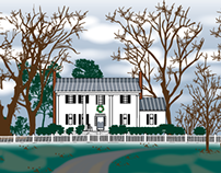 Vector Conversion of House
