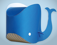 PLAFFY: the whale papertoy