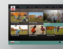 Clear.fi TV UI Design @Acer
