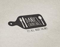 Corporate Identity - Daniel Churchill; The Healthy Cook