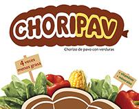 Choripav packaging