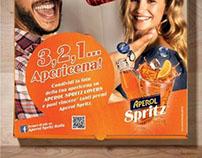 Sponsorpizza per Aperol Spritz Home Edition