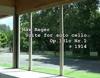 Max Reger: Suite for solo cello Op.131c Nr.1 - played b