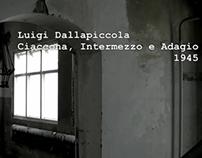Luigi Dallapiccola: Ciaccona, Intermezzo e Adagio - pla